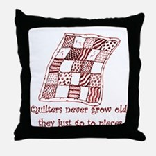 Quilters Throw Pillow