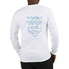 "Biblical ""Hail Mary"" Long Sleeve T-Shirt"