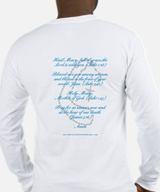 "Biblical ""Hail Mary"" Long Sleeve T-Shirt"