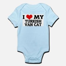 I love My Turkish Van Cat Infant Creeper