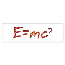 Incandescent Relativity Bumper Bumper Sticker