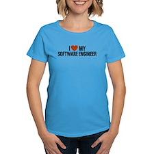 I Love My Software Engineer Tee
