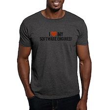 I Love My Software Engineer T-Shirt