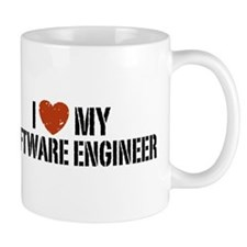 I Love My Software Engineer Mug