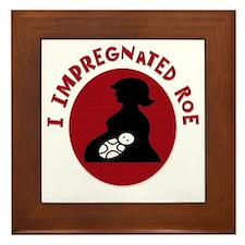 I Impregnated Roe Framed Tile