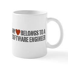 My Heart Belongs to a Software Engineer Mug