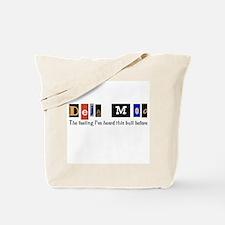 Deja Moo Tote Bag