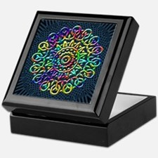 Rainbow Knots Keepsake Box