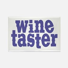 Wine Taster Rectangle Magnet