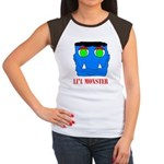 LI'L MONSTER Women's Cap Sleeve T-Shirt