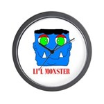 LI'L MONSTER Wall Clock