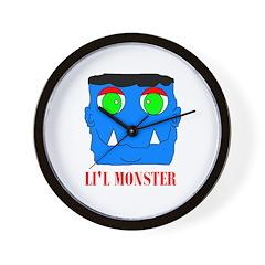 LI'L MONSTER Wall Clock