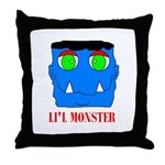 LI'L MONSTER Throw Pillow