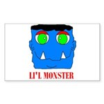 LI'L MONSTER Rectangle Sticker