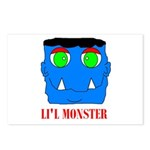 LI'L MONSTER Postcards (Package of 8)
