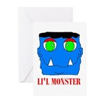 LI'L MONSTER Greeting Cards (Pk of 10)