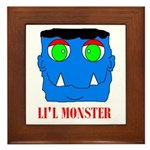 LI'L MONSTER Framed Tile