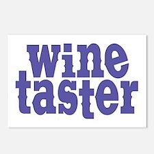 Wine Taster Postcards (Package of 8)