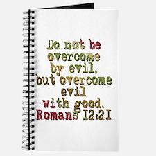 Romans 12:21 Journal