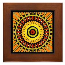Midnight Sun Framed Tile