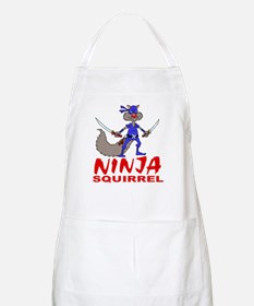 Ninja Squirrel BBQ Apron