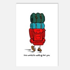 Backpacker Postcards (Package of 8)