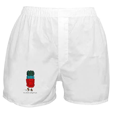 Backpacker Boxer Shorts