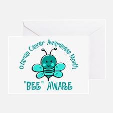 Ovarian Cancer Awareness Month 4.2 Greeting Card