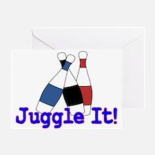 Juggle It Greeting Card