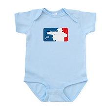 Major League type Infidel Onesie