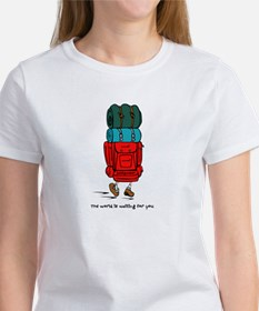 Backpacker Women's T-Shirt