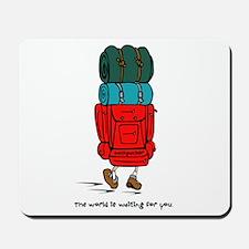Backpacker Mousepad