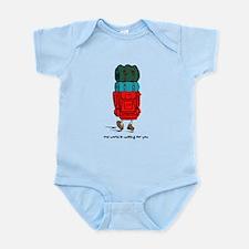 Backpacker Infant Bodysuit