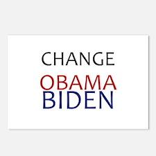 obama/biden Postcards (Package of 8)