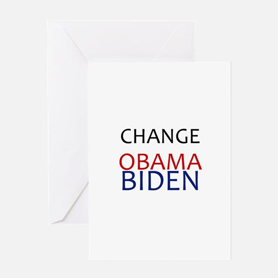 obama/biden Greeting Card