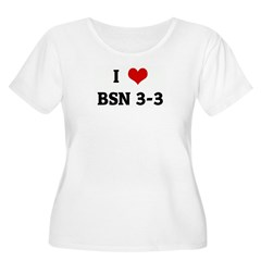 I Love BSN 3-3 T-Shirt