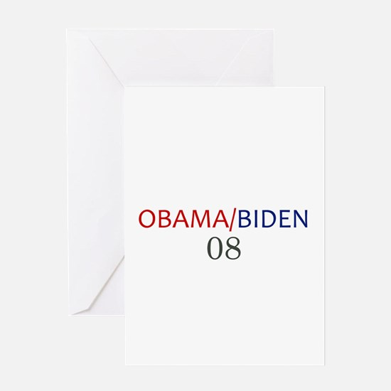 OBAMA / BIDEN Greeting Card