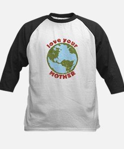 Love Your Mother Kids Baseball Jersey