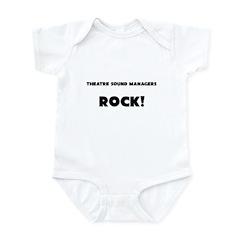 Theatre Sound Managers ROCK Infant Bodysuit