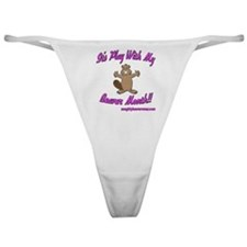Play With My Beaver Month Classic Thong