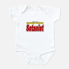 CERTIFIED Satanist Infant Bodysuit