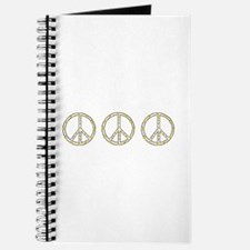 3 Rubber Ducky Peace Sign Journal