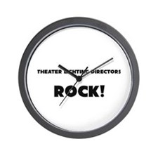 Theater Producers ROCK Wall Clock