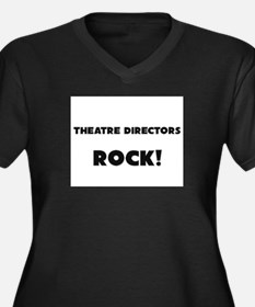 Theater Managers ROCK Women's Plus Size V-Neck Dar