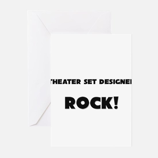 Theater Lighting Directors ROCK Greeting Cards (Pk
