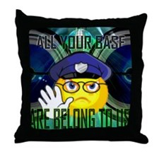 Cute Raver Throw Pillow