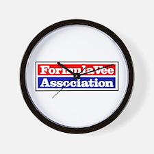 California FV Association Wall Clock