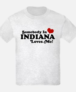 Somebody In Indiana Loves Me T-Shirt