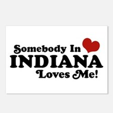 Somebody In Indiana Loves Me Postcards (Package of