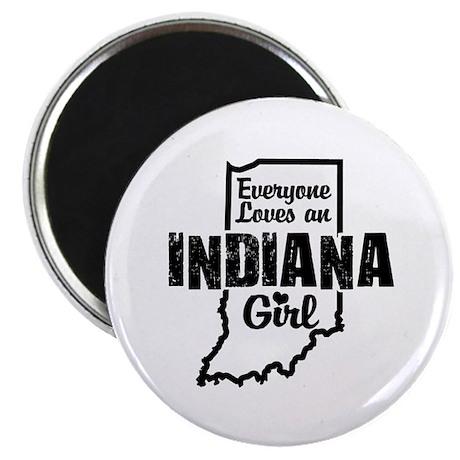Indiana Girl Magnet